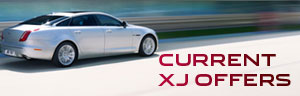 Jaguar XJ from just £599 a month