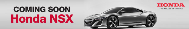 Coming Soon Honda NSX