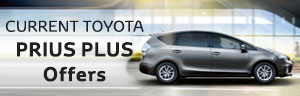 Toyota Prius Plus from £628 a month + 6.9% APR Representative + £1000 Finance Deposit Allowance + 5 Year Warranty