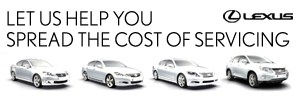 Spread the cost of your servicing
